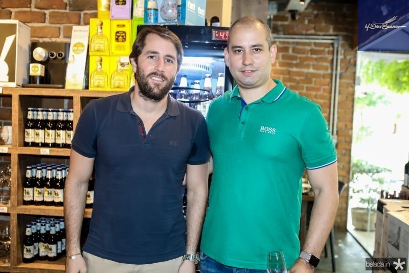 Rodrigo Frota e Andre Linheiro