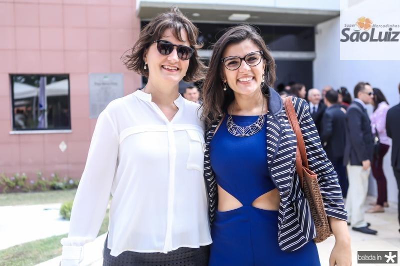 Manoela Nogueira e Jamile Peixoto