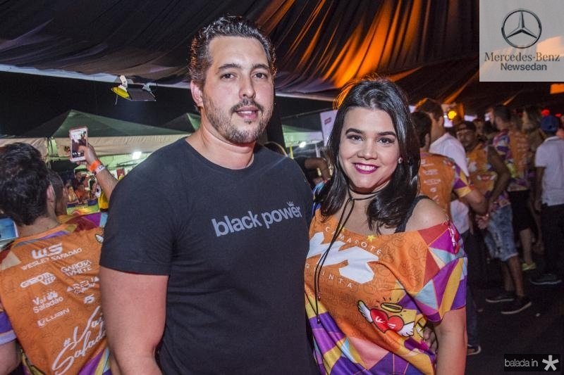Thiago Leal e Priscila Leal
