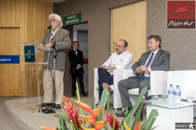 Joaquim Cartaxo, Honorio Pinheiro e Mauricio Filizola