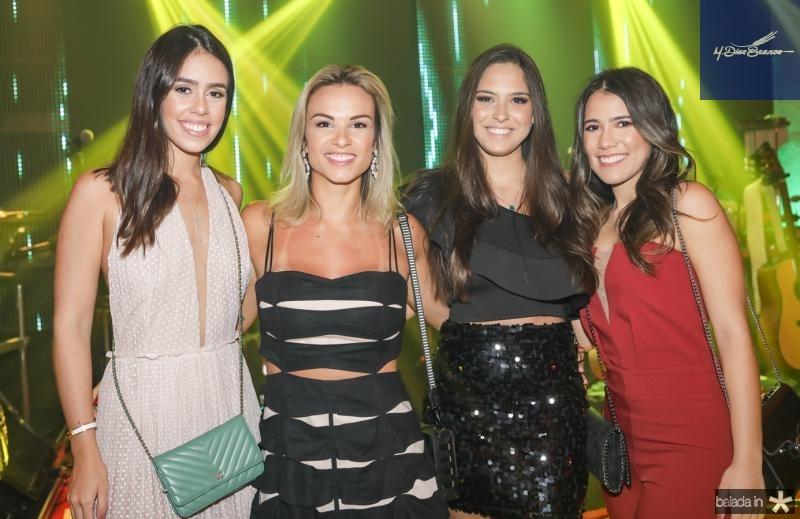 Julia Leal, Raissa Soares, Mila Twardy e Vitoria Macedo