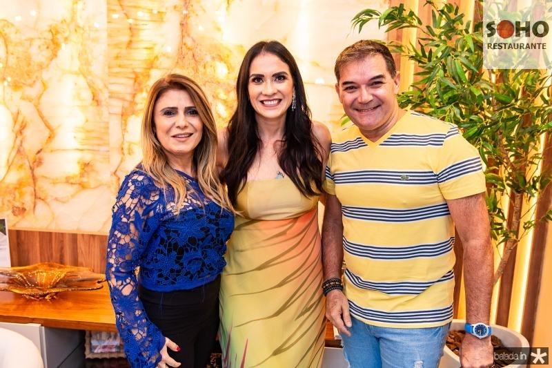 Adelia Albuquerque, Luciana Carioca e Luciano Rocha