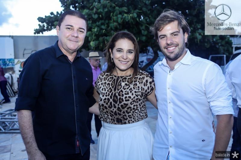 Eliseu Barros, Patricia Macedo e Claudio Nelson