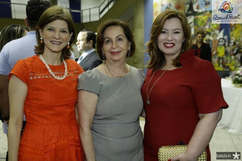 Cristina Praca, Fatima Veras e Aline Barroso