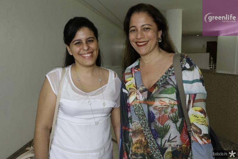 Gabriela Cidrao e Cristiane Fonteles
