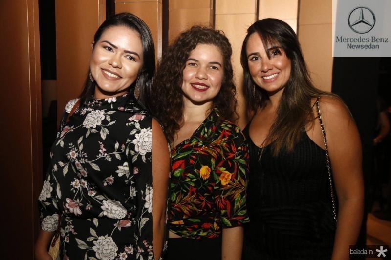 Mara Ferre, Larissa Martins e Gabrielle Cazorla