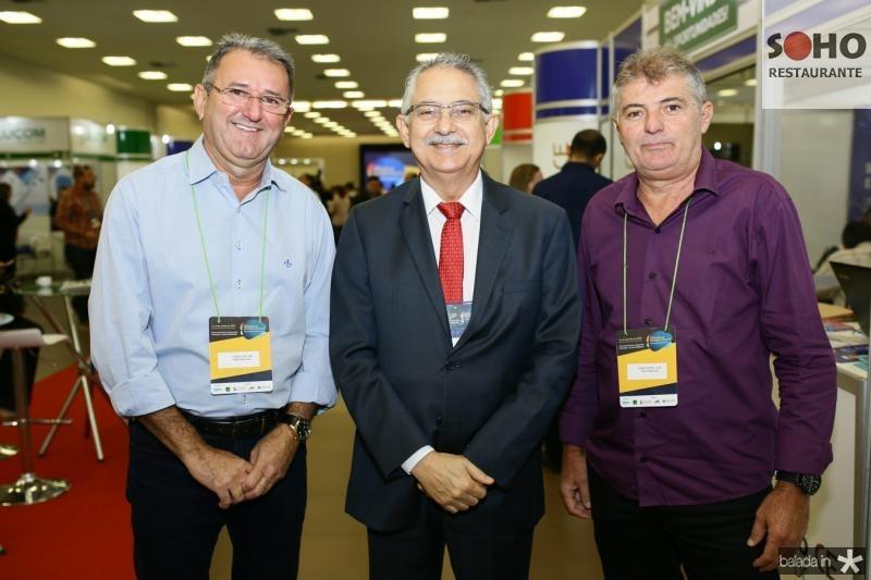 Clebio Pavone, Nilson Martins e Marconde Juca