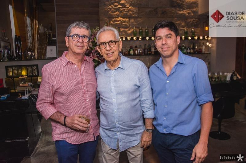 Marcio Tavora, Paulo Ponte e Marcio Tavora