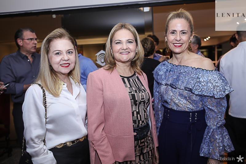 Gorete Cabral, Lenise Rocha e Tereza Ximenes