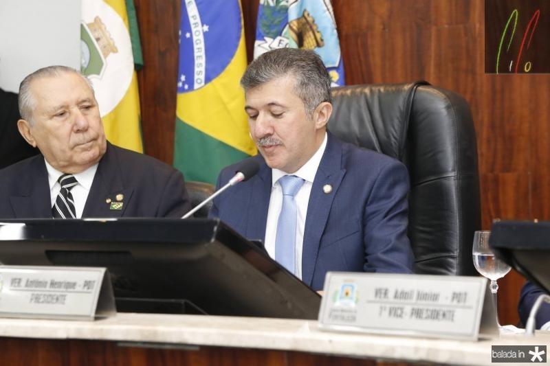 Idalmir Feitosa e Antonio Henrique