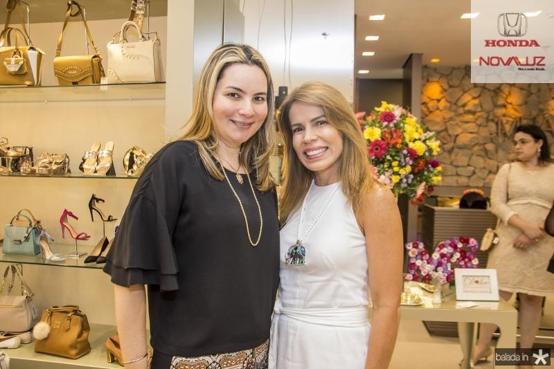Soraya Skaty e Maira Silva