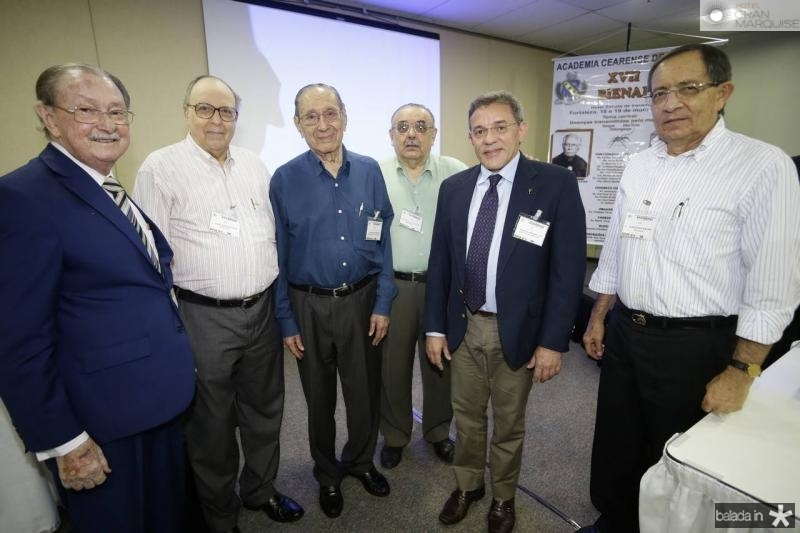 Iran Rabelo, Joao Evangelista, Gilmario Mourao, Sergio Gomes, Eurico Arruda e Janedson Baima