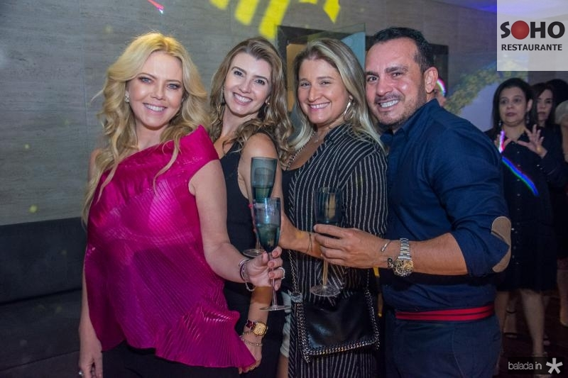 Branca Mourão, Tamara Azevedo, Karine Bezerra e Wilfredy Mendonca