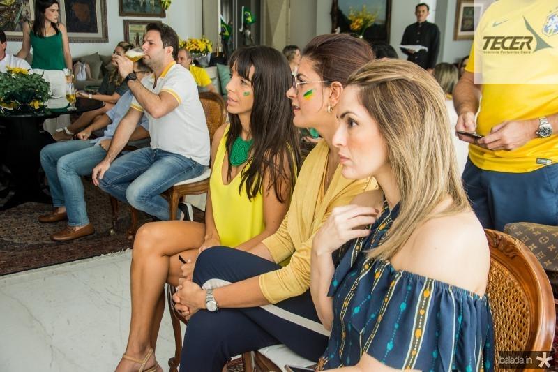 Rafaela Vieira, Tatiana Moreira e Mirna Paz