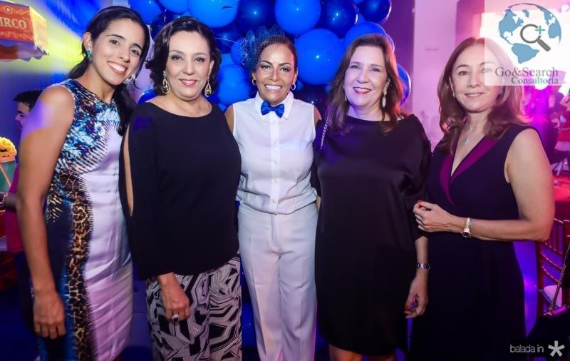 Natalia Quental, Moema Mota, Gil Santos, Angela Bezerra e Monica Bezerra