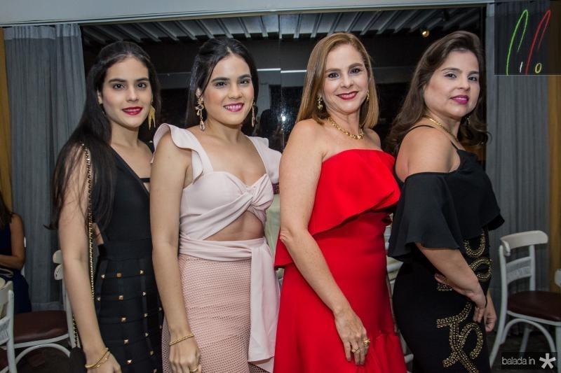 Arbelia Teixeira, Carisia Teixeira, Carisia Santos e Sumaya Rocha