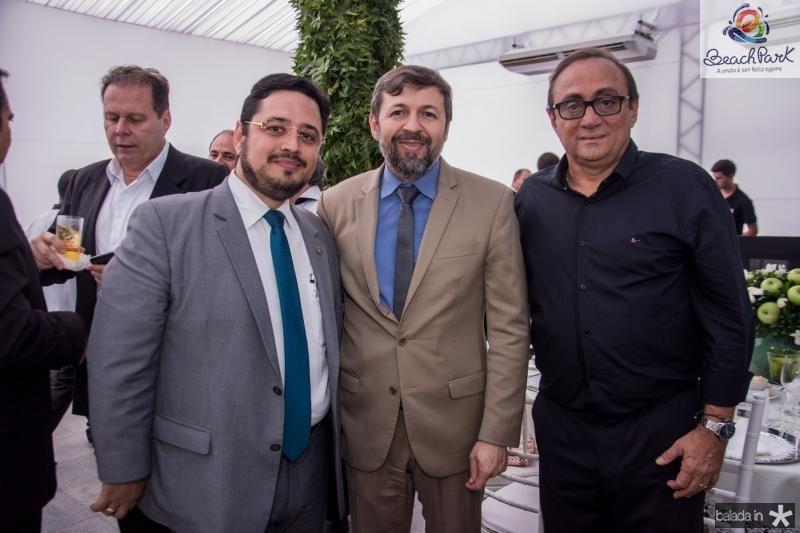Ricardo Valente, Elcio Batista e tim Gomes