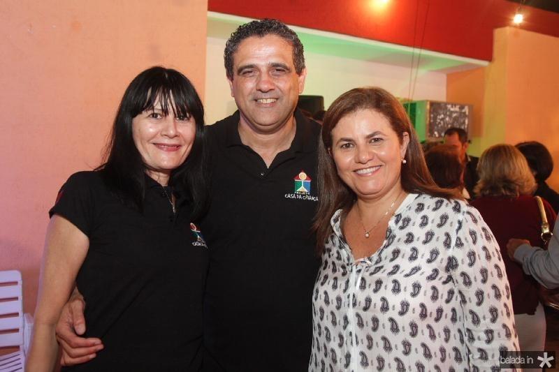 Rosalinda Pinheiro, André e Islane Verçosa