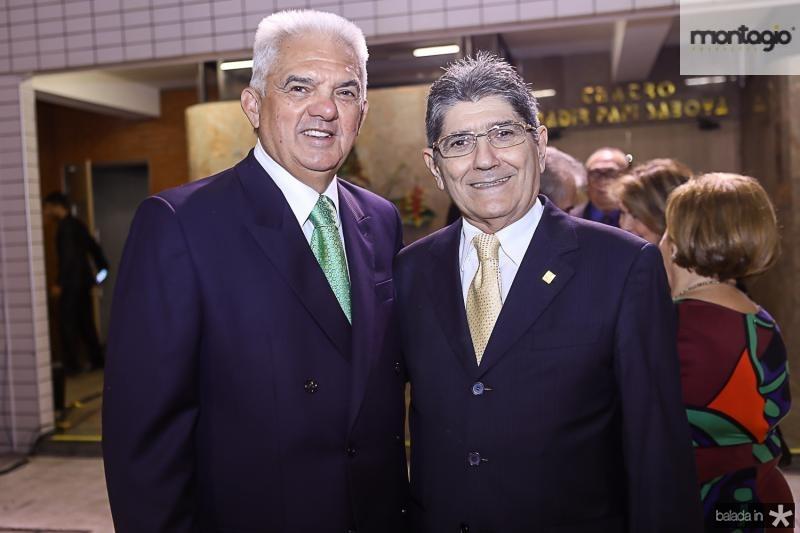 Tales Sa Cavalcante e Augusto Bezerra