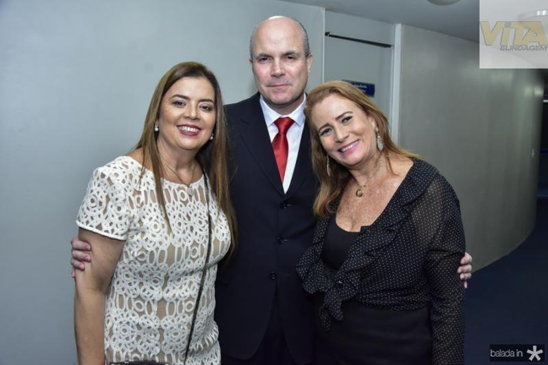 Lucia Cavalcante, Luiz Eugenio Franca e Patricia Franco