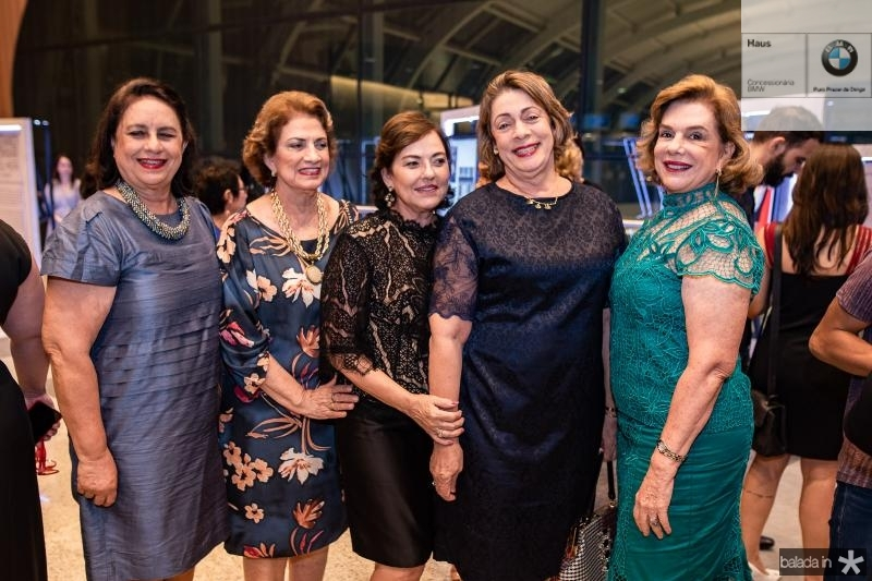 Veronica Silva, Sara Virginio, Ana Studart, Fatima Ines e Ana Fiuza