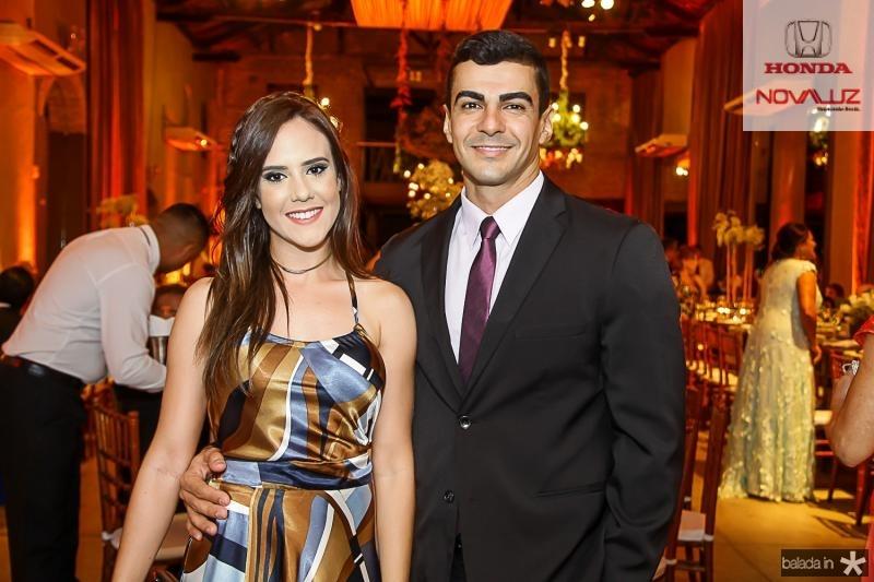 Rebeca Caetano e Thulio Carvalho