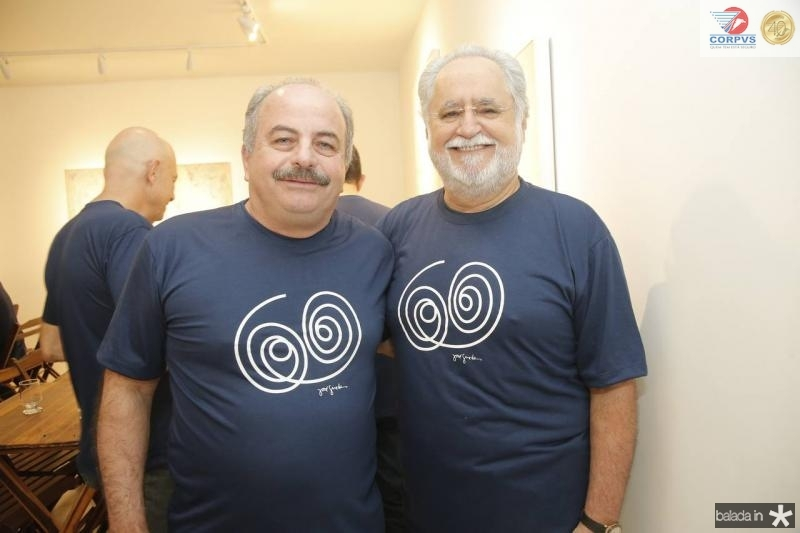 Ademar Gondim e Alfredo Turbai