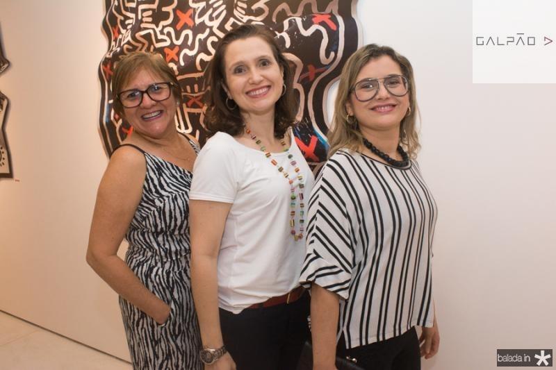 Telma Lobato, Andreia Dallolio e Veridiana Brasileiro