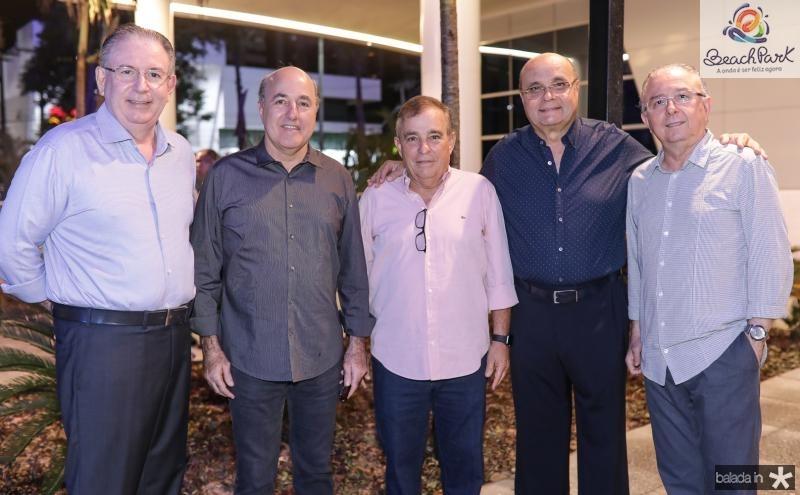 Ricardo Cavalcante, Silvio Frota, Claudio Targino, Fernando Gurgel e Joao Melo