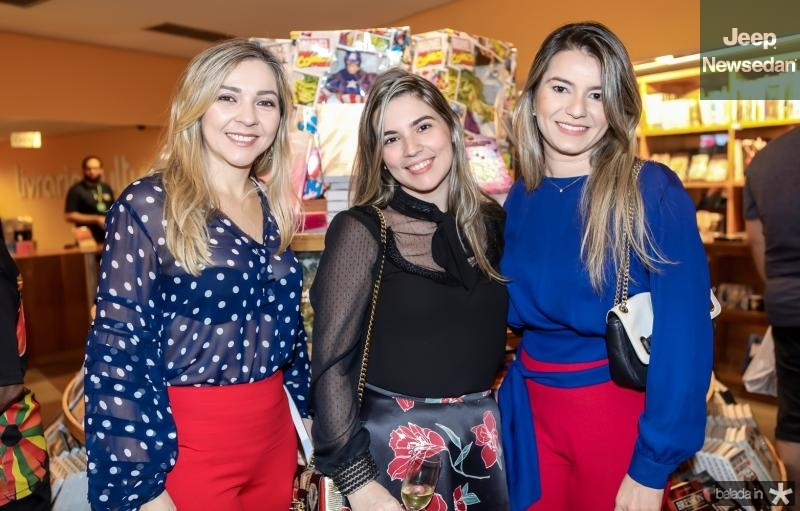 Leticia Rodrigues, Juliana Bastos e Brenda Ximenes