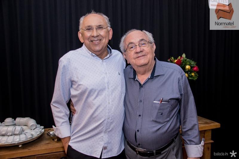 Luis Carlos Correa e Eduardo Bezerra