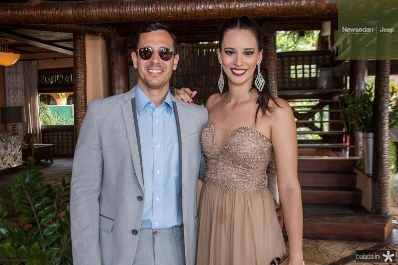 Juan Belfort e Natasha Franklin