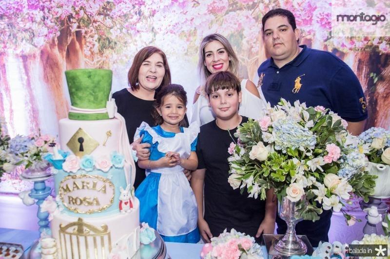 Rosa Maria, Karen Lima, Maria Rosa Aguiar, Joao Rolim Lima e Joao Paulo Carneiro