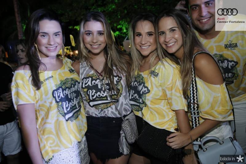 Mariana Fiuza, Amanda Diniz, Roberta Fernandes e Marina Brasil