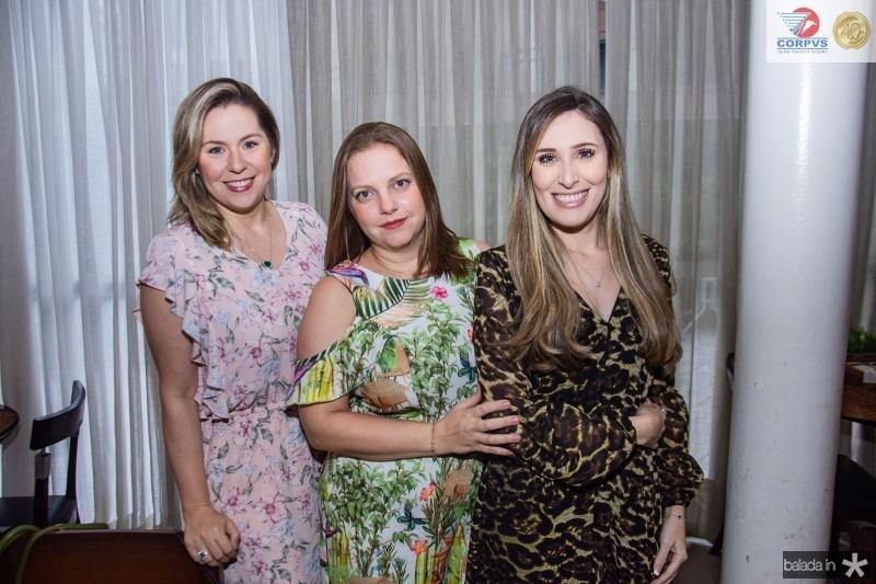 Nanete Castelo Branco, Renata Paraiba e Monique Sales