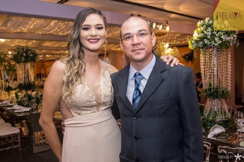 Bruna Lima e Edson Guilherme