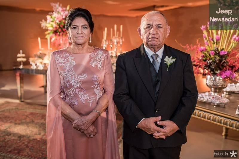 Francisca e Jose de Moura Dias