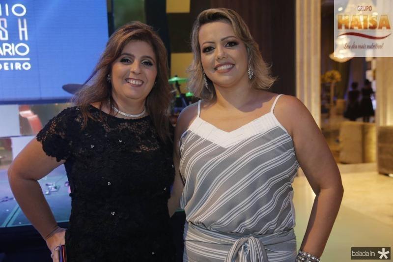 Valeria Manarinno e Glicia Abreu