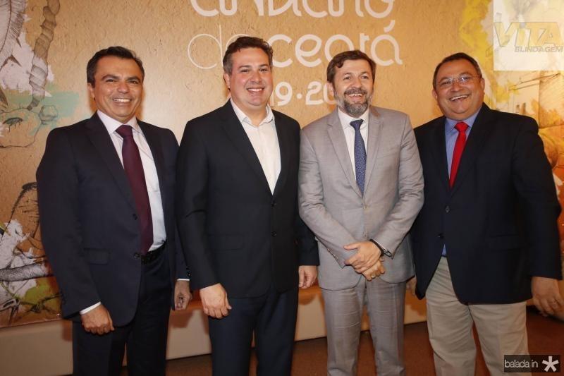 Juvencio Viana, Samuel Dias, Elcio Batista e Moacir Maia