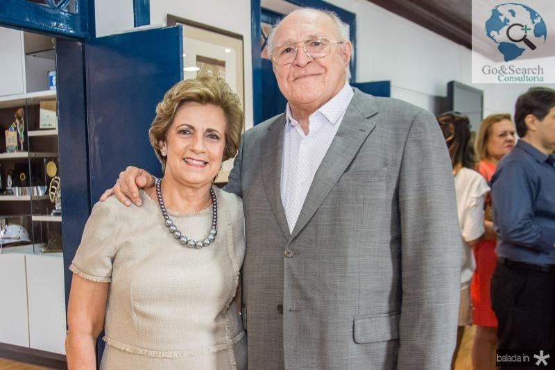 Regina Aragao e Luis Marques