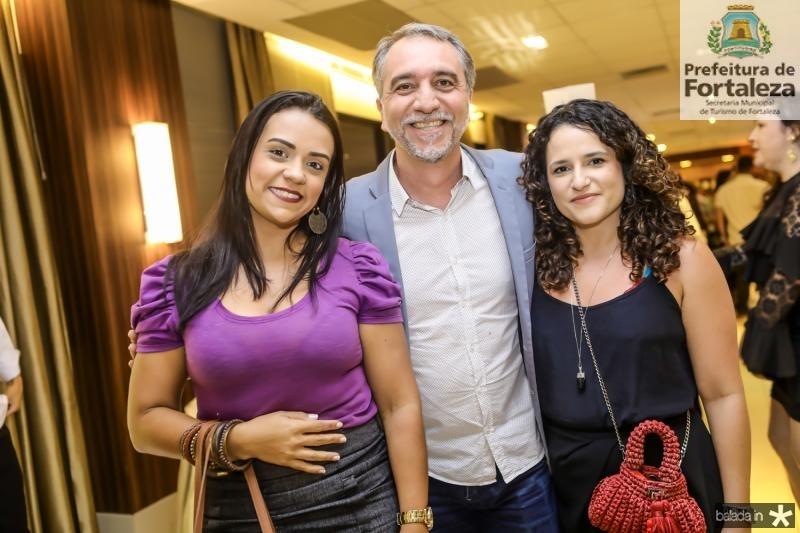 Mariana Barra, Mauro Cota e Mariana Marques