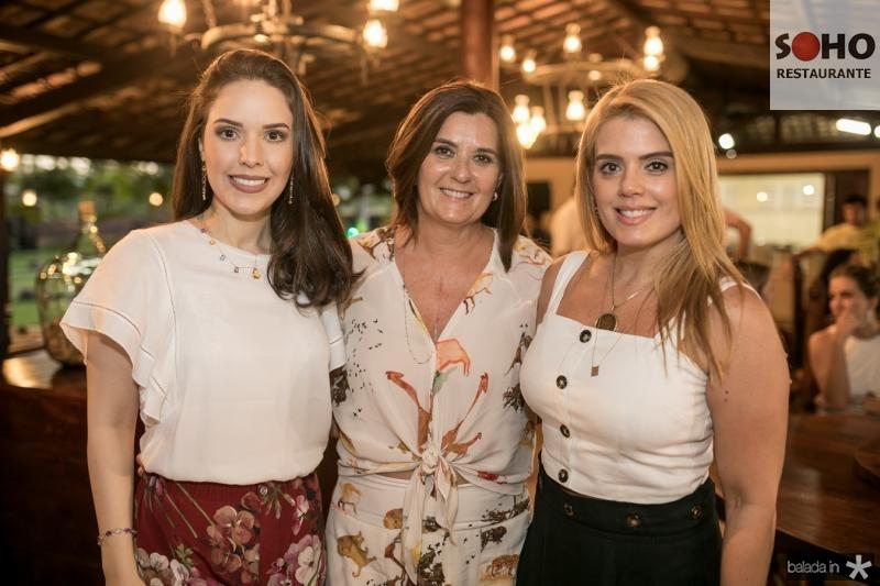 Lucinha e Marcia Feitosa, Leticia Studart