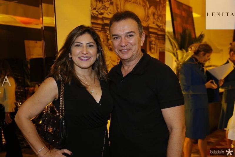 Evanice Maia e Evandro Ribeiro