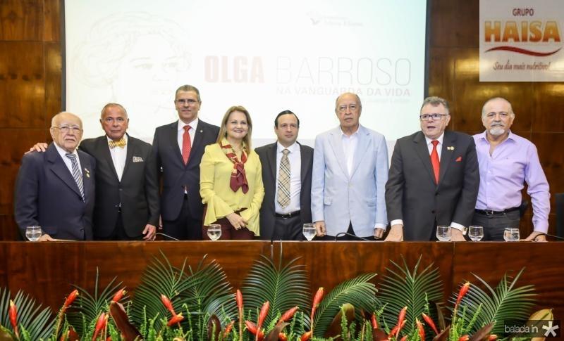 Ubiratan Aguiar, Roberto Parcifal, Randal Pompeu, Lenise Rocha, Igor Barroso, Lucio Alcantara, Juarez Leitao e Reginaldo Barroso