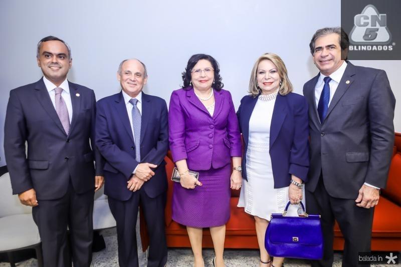 Marcelo Mota, Gladyson Pontes, Nailde Pinheiro, Iracema do Vale e Zezinho Albuquerque