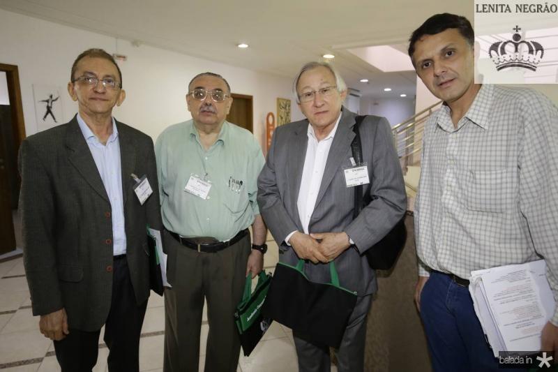 Ivan Moura, Sergio Gomes, Carlos Ciarline e Francisco Gondim