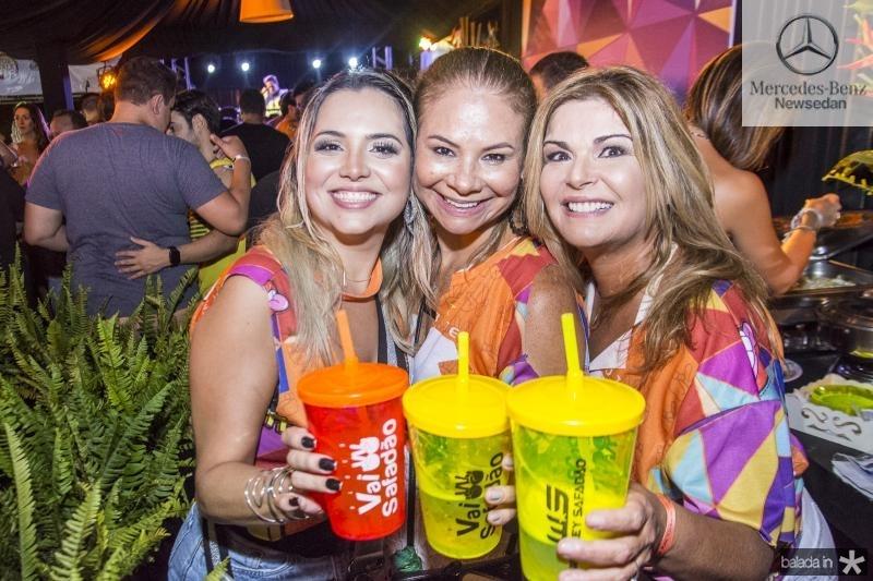 Risangela Lima, Milena Lima e Cristiane Lima