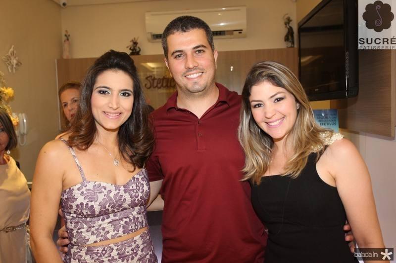 Camila Rodrigues, Victor e Vanessa Queiroz