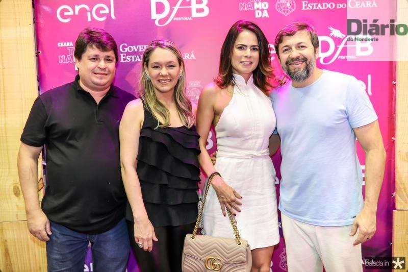 George e Erica Lima, Luciana Sousa e Elcio Batista