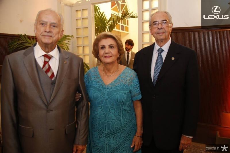 Paulo Barbosa, Ester Castro e Paulo Picanco